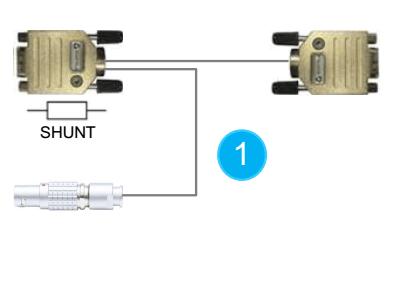 Cable avec shunt